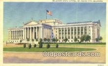 cap001580 - Oklahoma City, Oklahoma, OK State Capital, Capitals Postcard Post Card USA