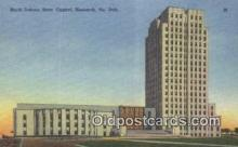 cap001592 - Bismarck, North Dakota, ND State Capital, Capitals Postcard Post Card USA