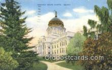 cap001597 - Helena, Montana, MT  State Capital, Capitals Postcard Post Card USA