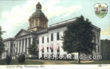 cap001599 - Tallahassee, Florida, FL State Capital, Capitals Postcard Post Card USA