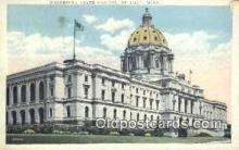 cap001600 - St Paul, Minnesota, MN  State Capital, Capitals Postcard Post Card USA