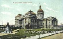 cap001605 - Indianapolis, Indiana, IN State Capital, Capitals Postcard Post Card USA