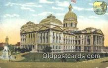 cap001606 - Indianapolis, Indiana, IN State Capital, Capitals Postcard Post Card USA