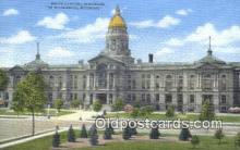 cap001612 - Cheyenne, Wyoming, WY  State Capital, Capitals Postcard Post Card USA
