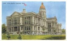 cap001615 - Cheyenne, Wyoming, WY  State Capital, Capitals Postcard Post Card USA