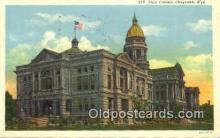 cap001616 - Cheyenne, Wyoming, WY  State Capital, Capitals Postcard Post Card USA
