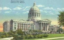 cap001618 - Jefferson City, Missouri , MO State Capital, Capitals Postcard Post Card USA