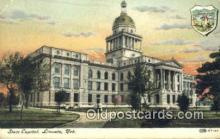 cap001620 - Lincoln, Nebraska, NE  State Capital, Capitals Postcard Post Card USA