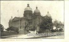 cap001622 - Des Moines, Iowa, IA State Capital, Capitals Postcard Post Card USA
