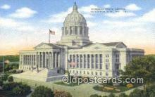 cap001623 - Jefferson City, Missouri , MO State Capital, Capitals Postcard Post Card USA