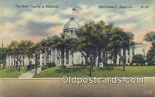 cap001630 - Montgomery, Alabama, AL  State Capital, Capitals Postcard Post Card USA