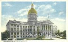 cap001638 - Atlanta, Georgia, GA State Capital, Capitals Postcard Post Card USA