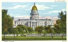 cap001642 - Denver, Colorado, CO State Capital, Capitals Postcard Post Card USA