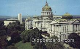 cap001645 - Harrisburg, Pennsylvania, PA  State Capital, Capitals Postcard Post Card USA