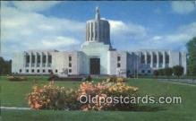 cap001648 - Salem, Oregon, OR  State Capital, Capitals Postcard Post Card USA