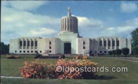 cap001652 - Salem, Oregon, OR  State Capital, Capitals Postcard Post Card USA