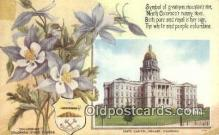 cap001669 - Denver, Colorado, CO State Capital, Capitals Postcard Post Card USA