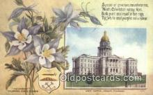 cap001670 - Denver, Colorado, CO State Capital, Capitals Postcard Post Card USA