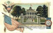 cap001677 - Augusta, Maine, ME State Capital, Capitals Postcard Post Card USA