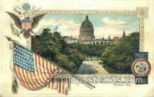 cap001678 - Madison, Wisconsin, WI State Capital, Capitals Postcard Post Card USA
