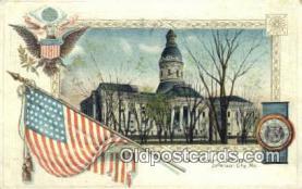 cap001689 - Jefferson City, Missouri , MO State Capital, Capitals Postcard Post Card USA