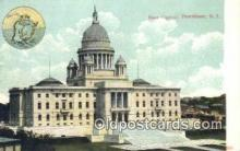 cap001693 - Providence, Rhode Island, RI State Capital, Capitals Postcard Post Card USA