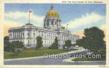 cap001700 - St Paul, Minnesota, MN  State Capital, Capitals Postcard Post Card USA