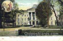 cap001707 - Raleigh, North Carolina, NC  State Capital, Capitals Postcard Post Card USA