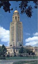 cap001710 - Lincoln, Nebraska, NE  State Capital, Capitals Postcard Post Card USA