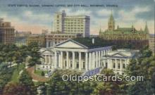 cap001714 - Richmond, Virginia, VA  State Capital, Capitals Postcard Post Card USA