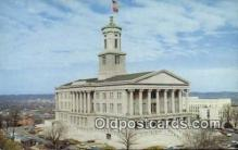 cap001716 - Nashville, Tennessee, TN State Capital, Capitals Postcard Post Card USA