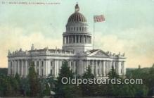 cap001736 - Sacramento, California, CA  State Capital, Capitals Postcard Post Card USA