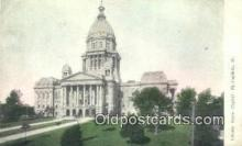 cap001739 - Springfield, Illinois, IL State Capital, Capitals Postcard Post Card USA