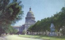 cap001748 - Austin, Texas, TX State Capital, Capitals Postcard Post Card USA