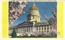 cap001751 - Salt Lake City, Utah, UT  State Capital, Capitals Postcard Post Card USA