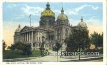 cap001756 - Des Moines, Iowa, IA State Capital, Capitals Postcard Post Card USA