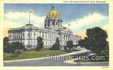 cap001761 - St Paul, Minnesota, MN  State Capital, Capitals Postcard Post Card USA