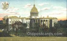 cap001774 - Madison, Wisconsin, WI State Capital, Capitals Postcard Post Card USA