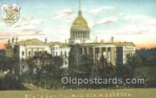 cap001775 - Madison, Wisconsin, WI State Capital, Capitals Postcard Post Card USA