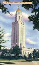cap001787 - Lincoln, Nebraska, NE  State Capital, Capitals Postcard Post Card USA