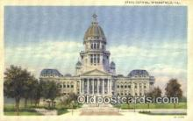 cap001794 - Springfield, Illinois, IL State Capital, Capitals Postcard Post Card USA