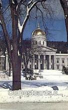 cap001804 - Montpelier, Vermont, VT State Capital, Capitals Postcard Post Card USA