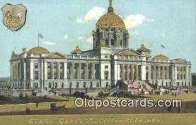 cap001807 - Little Rock, Arkansas, AR State Capital, Capitals Postcard Post Card USA