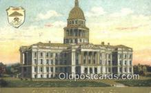 cap001808 - Denver, Colorado, CO State Capital, Capitals Postcard Post Card USA