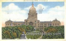 cap001812 - Austin, Texas, TX State Capital, Capitals Postcard Post Card USA