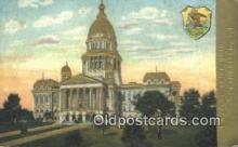 cap001822 - Springfield, Illinois, IL State Capital, Capitals Postcard Post Card USA