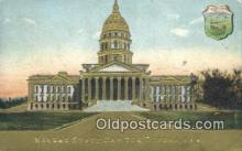 cap001826 - Topeka, Kansas, KS  State Capital, Capitals Postcard Post Card USA