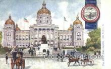 cap001844 - Des Moines, Iowa, IA State Capital, Capitals Postcard Post Card USA