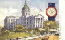cap001847 - Atlanta, Georgia, GA State Capital, Capitals Postcard Post Card USA