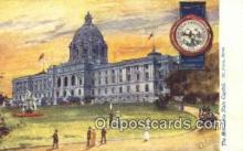cap001852 - St Paul, Minnesota, MN  State Capital, Capitals Postcard Post Card USA